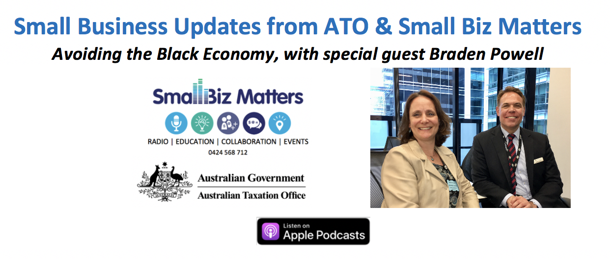 How to Avoid the Black Economy & Why the ATO is Supporting Small Business