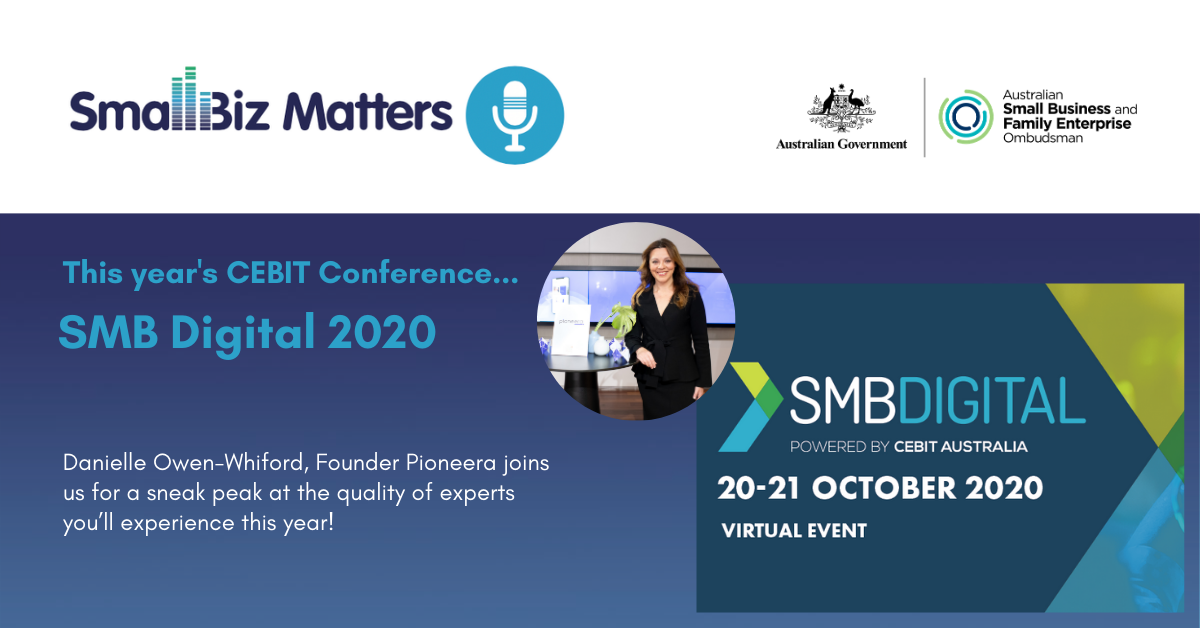 Highlights from the upcoming CEBIT SMB Digital Conference~Danielle Owen-Whitford, Pioneera Founder & Braden Voigt Lynkz Founder