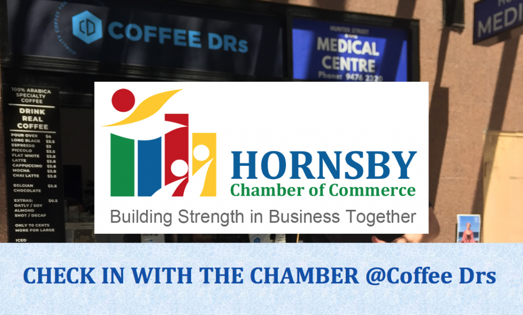 Hornsby Chamber of Commerce ~ Monthly Coffee Check-In